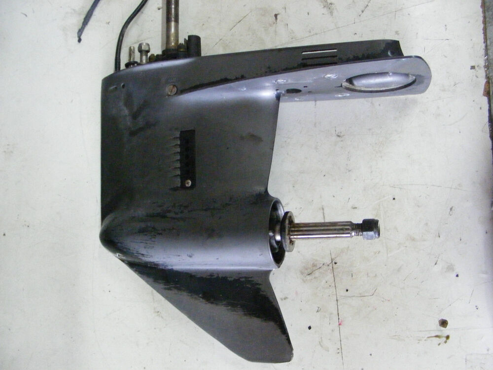 Mercury 35 40 45 50 Hp 4 Cylinder Lower Unit 20 Outboard