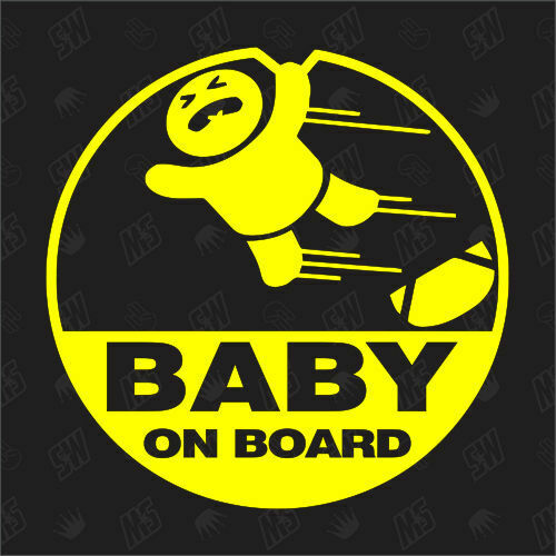 baby on board auto tuning sticker baby an bord fun. Black Bedroom Furniture Sets. Home Design Ideas