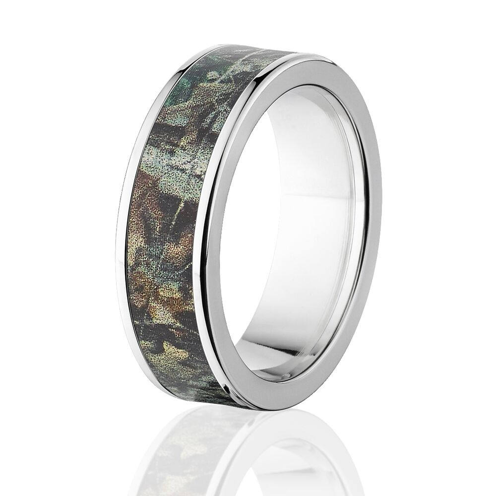 Realtree Wedding Rings: Official Licensed RealTree Camo Rings Timber Pattern, Camo