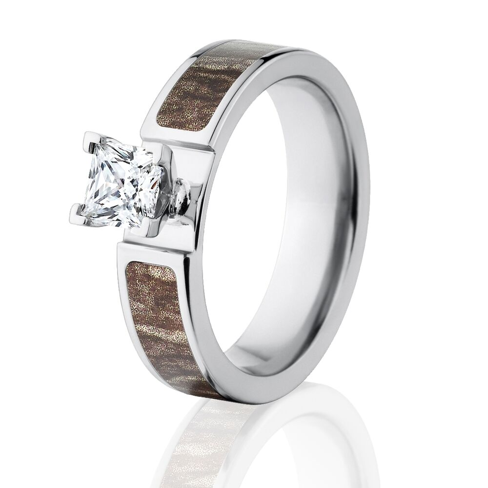 mossy oak bottomland camo rings camouflage engagement