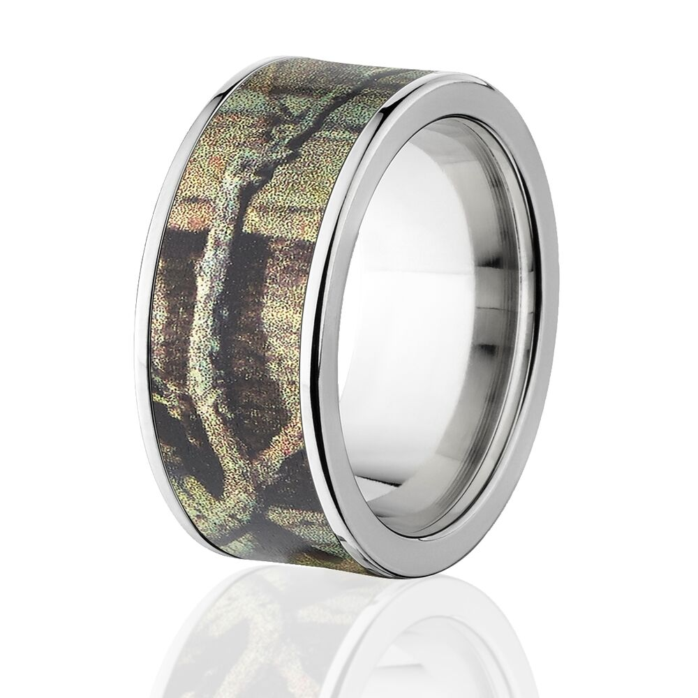 camo rings mens camo wedding bands licensed mossy oak