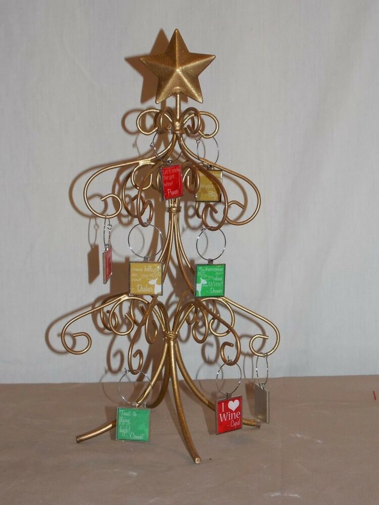 Nambe Metal Christmas Tree Ornament Holder Quot green tone iron