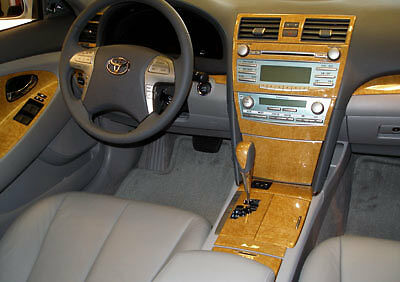 dash trim kit fits toyota camry 2007 2008 2009 any color ebay. Black Bedroom Furniture Sets. Home Design Ideas