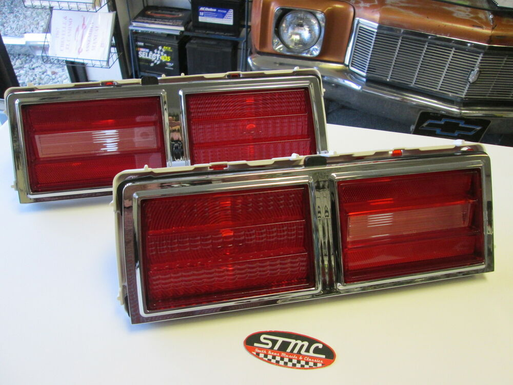 75 76 77 78 79 Nova New Pair Of Tail Light Taillight