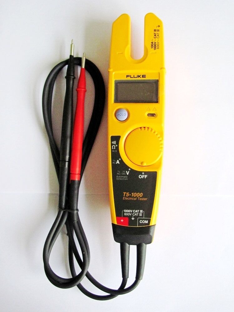 Fluke Voltmeter Tester : New fluke t voltage digital continuity current