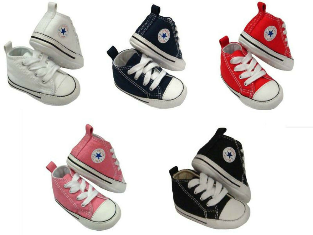 Converse Kids Chuck Taylor First Star Core Crib Soft Sole