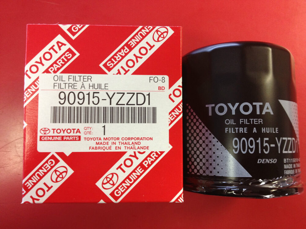 Genuine toyota oil filter tacoma camry sienna 5qty oem for Toyota sienna motor oil