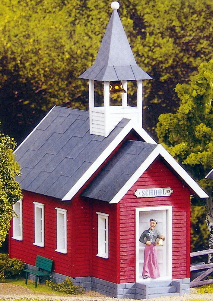 G 1 House Design: PIKO LITTLE RED SCHOOL HOUSE G Scale Building Kit 62243