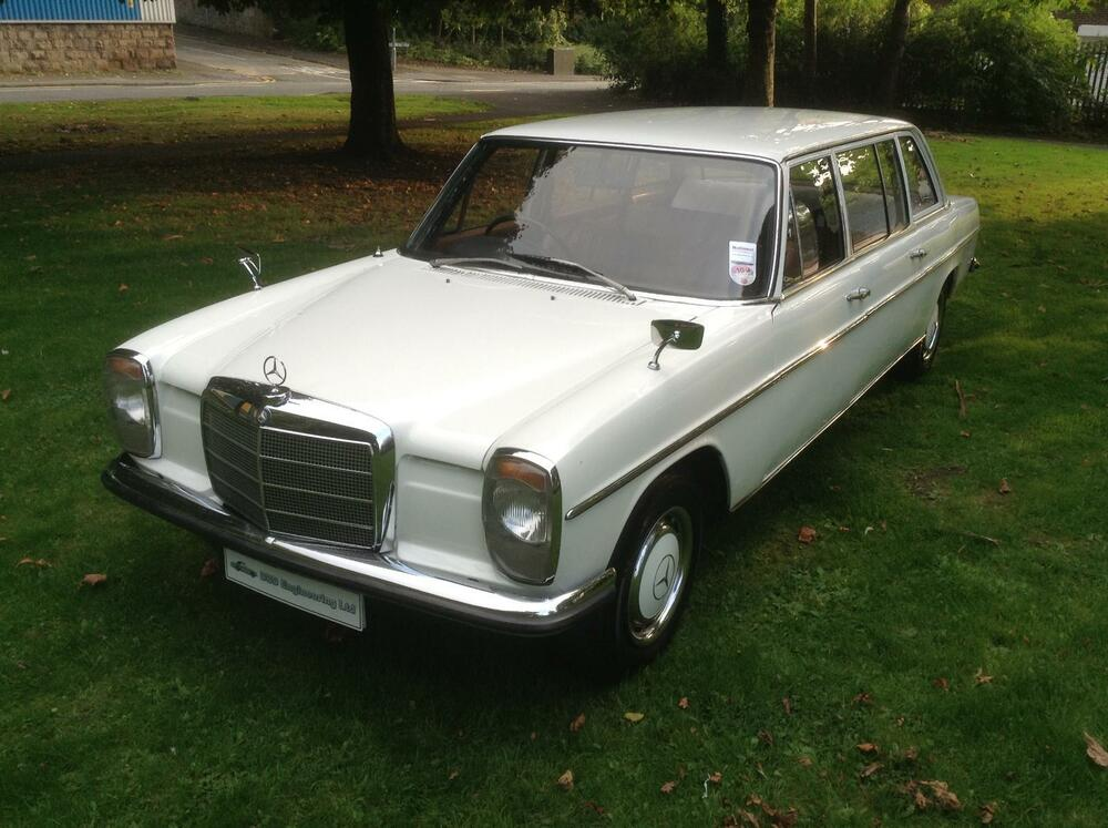 Mercedes benz w115 220 limousine 8 seat ebay for Mercedes benz two seater
