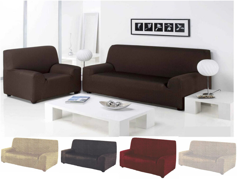 1 2 3 seater sofa stretch cover slip cover washable elastic sofa cover throw ebay. Black Bedroom Furniture Sets. Home Design Ideas
