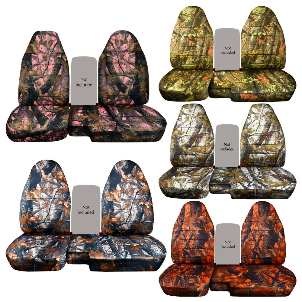 Cc 98 03 Ford Ranger Tree Camo Car Seat Covers 60 40
