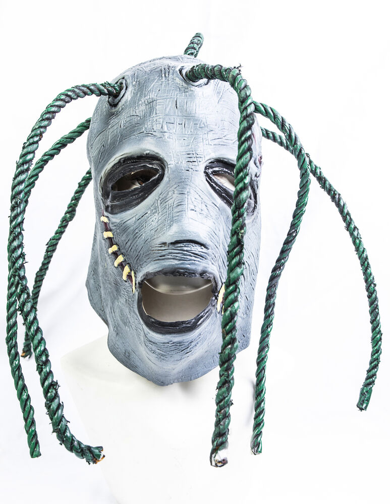 Corey Taylor Style Full Head Latex Mask With Dreadlocks ...