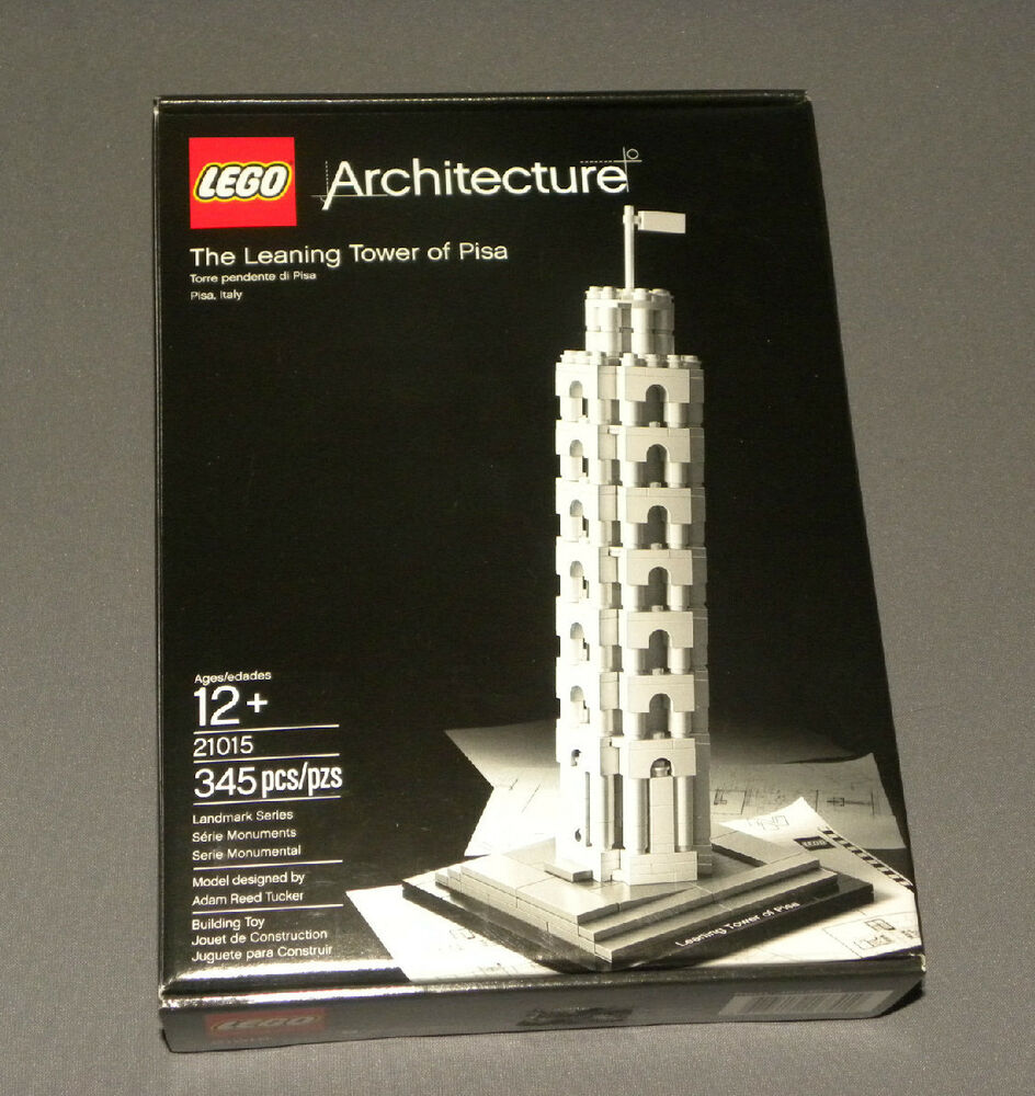 LEGO The Leaning Tower of Pisa 21015 Architecture Landmark ...