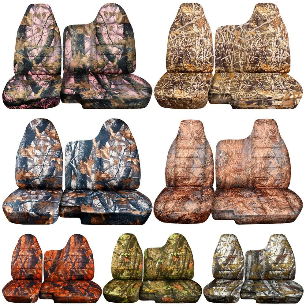 Cc 98 03 Ford Ranger Tree Camo Car Seat Covers 60 40 Split