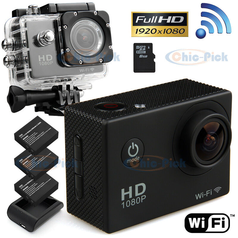 wifi sports cam sj4000 1080p hd video action camera. Black Bedroom Furniture Sets. Home Design Ideas
