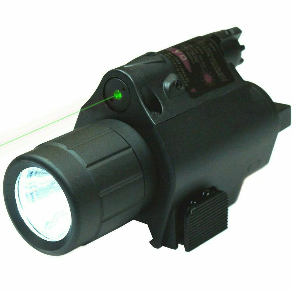 Tactical Powerful Green Laser Sight Cree Led Flash Light