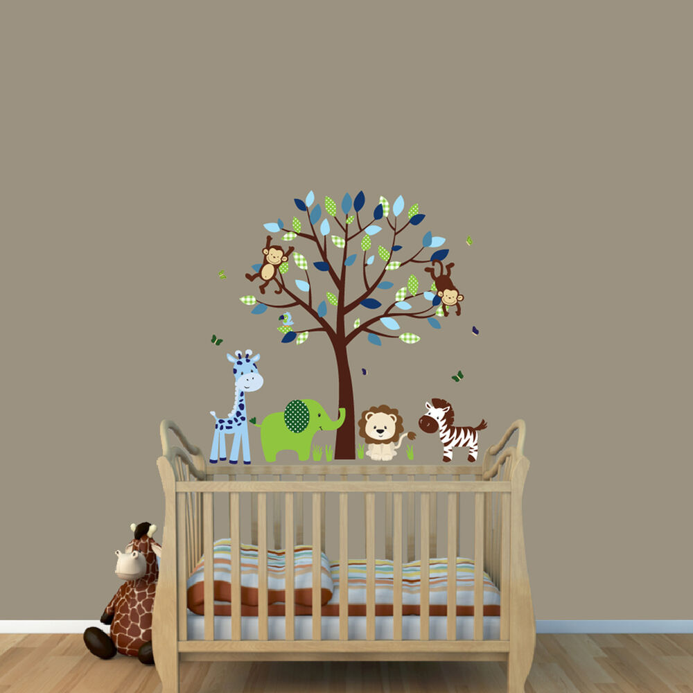 safari wall stickers for nursery uk color the walls of your house safari wall stickers for nursery uk safari themed nursery boys wall decal kids