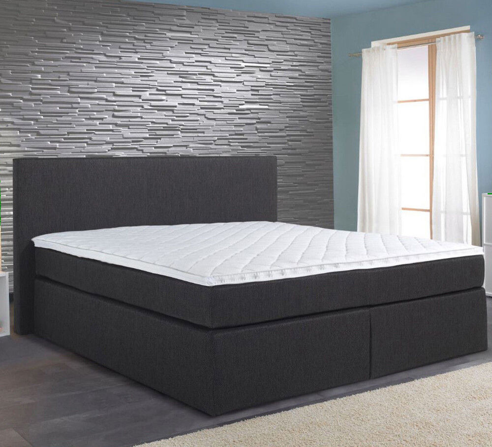 boxspringbett chantal lf 180 x 200 cm incl topper qualit t aus deutschland ebay. Black Bedroom Furniture Sets. Home Design Ideas