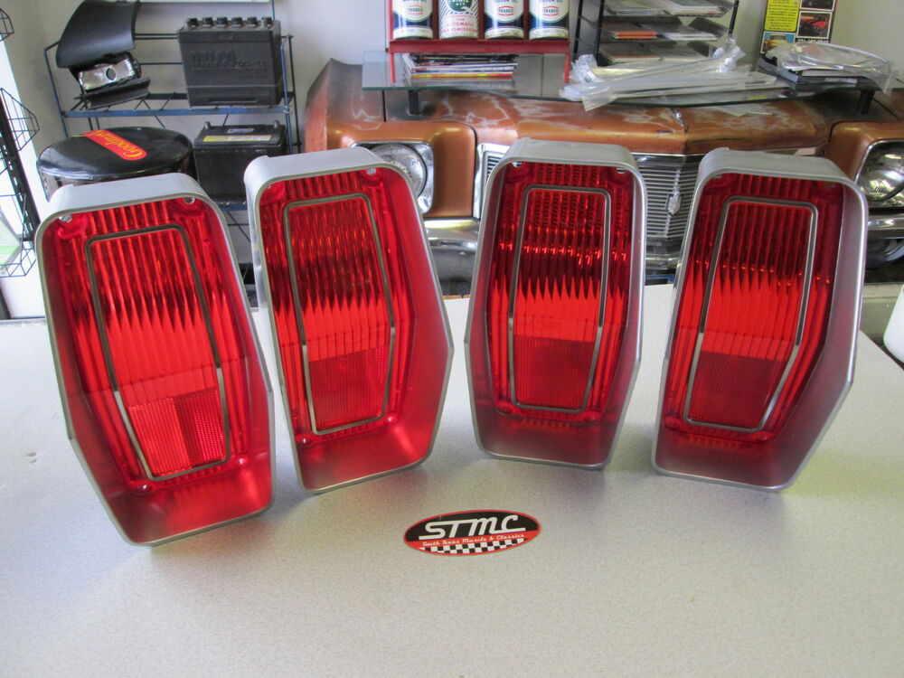Newer Vehicle Tail Light Lenses : Cutlass supreme new pair of correct taillight