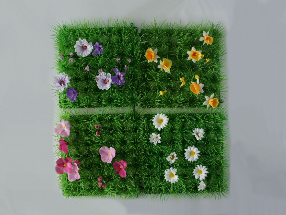 ASTRO TURF FOR FAIRY HOBBIT GARDEN CHOICE OF 4 WITH