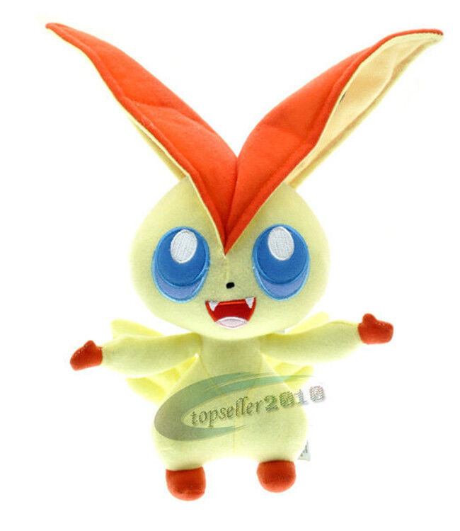 Soft Toys For Toddlers Religious : Quot cute pokemon victini kids toy soft plush stuffed toys