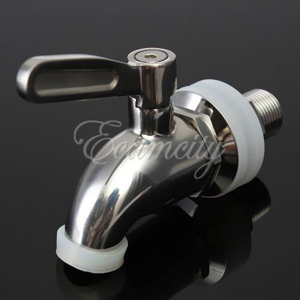 304 Stainless Steel Replacement Spigot/Faucet for Beverage ...