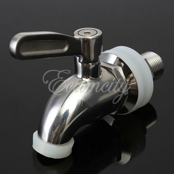304 stainless steel replacement spigot faucet for beverage drink dispenser parts ebay. Black Bedroom Furniture Sets. Home Design Ideas
