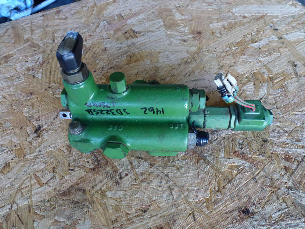 Hydraulic Lift Actuator : Quot manual hydraulic valve w electric solenoid detent