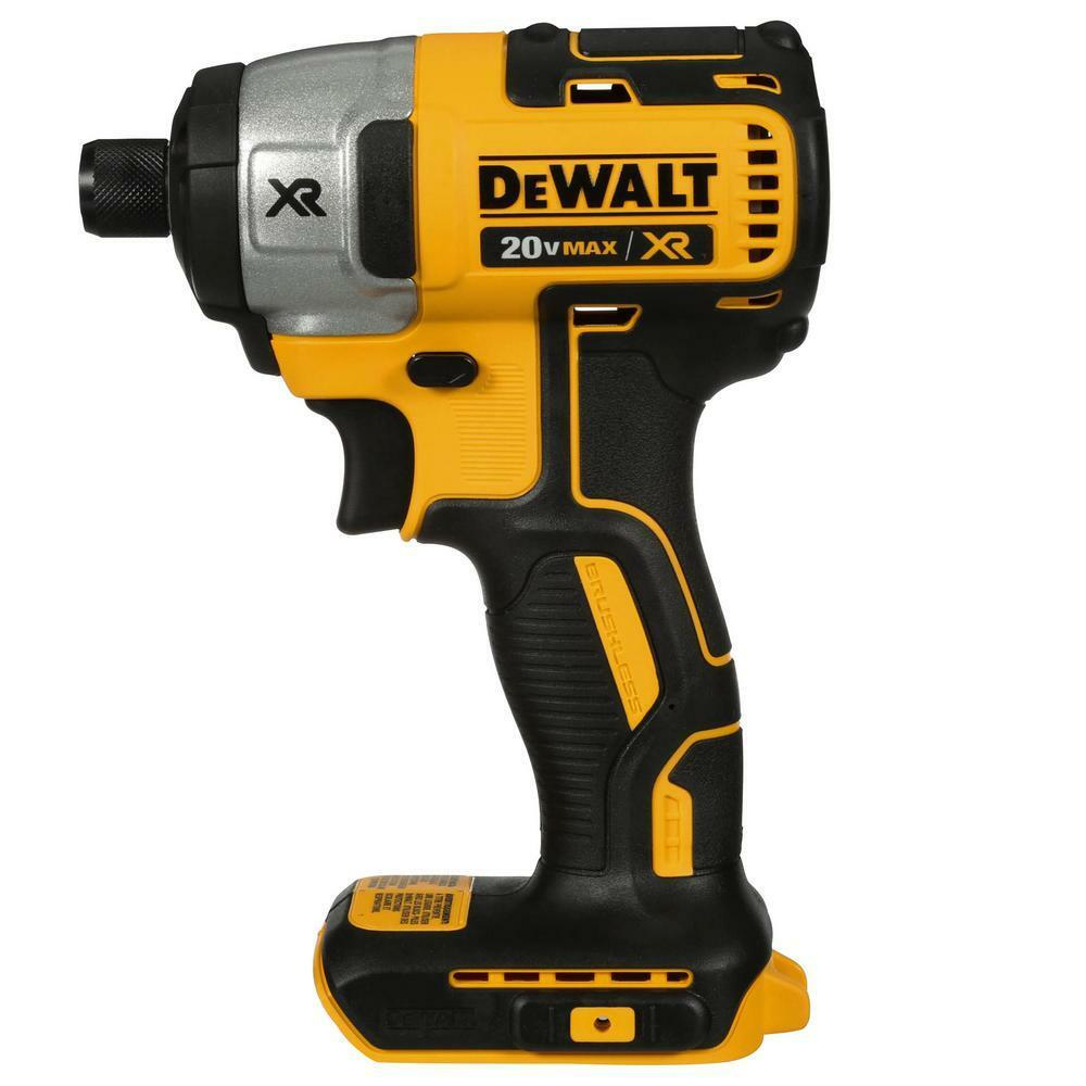 Dewalt dcf886br 20v lithium ion brushless 1 4 cordless for Dewalt 20v brushless motor