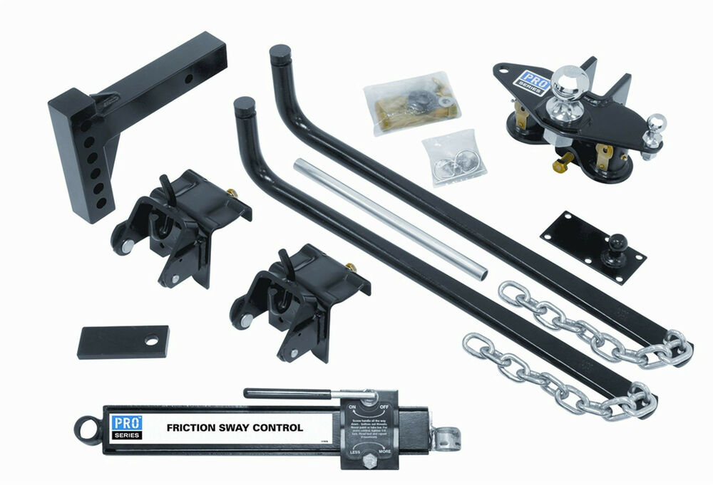 Pro Series 49903 Weight Distribution Hitch with Sway ...