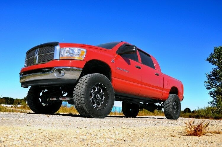 """4 Inch Lift Kit For Dodge Ram 1500 4wd >> NEW Rough Country 2009 - 2010 Dodge Ram 2500 3500 Mega Cab 4WD Gas 5"""" Lift Kit 