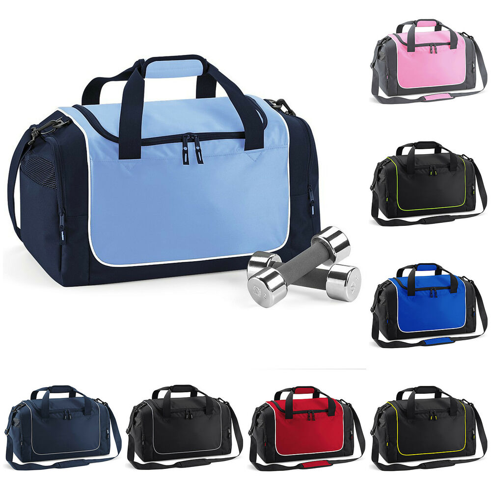 dba7163c23 Details about Gym Bag Holdall Sports Locker Bag Duffle Bag Travel Work Mens  Womens Team Games
