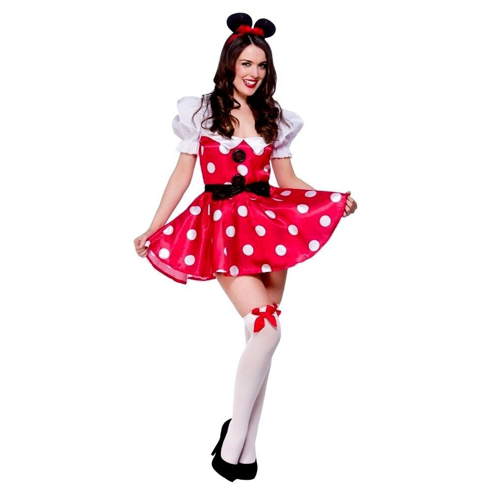 Adult minnie mouse custome