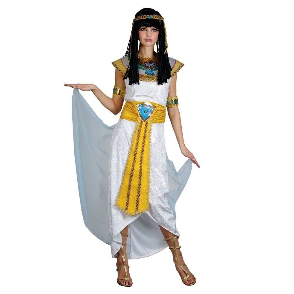 Adult Egyptian PRINCESS CLEOPATRA Fancy Dress Ladies ...