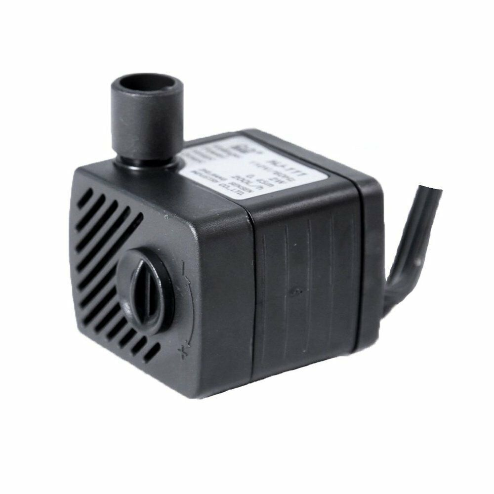 50gph Submersible Water Fountain Pump Adjustable Speed