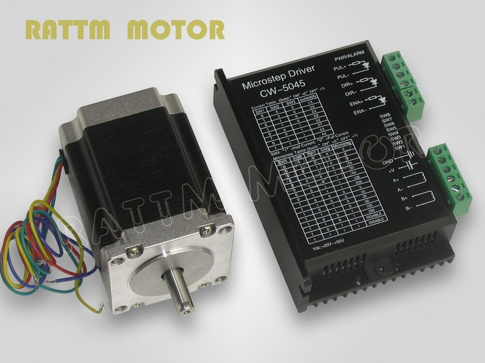 1pcs Nema23 270 Oz In Stepper Motor Driver With 256