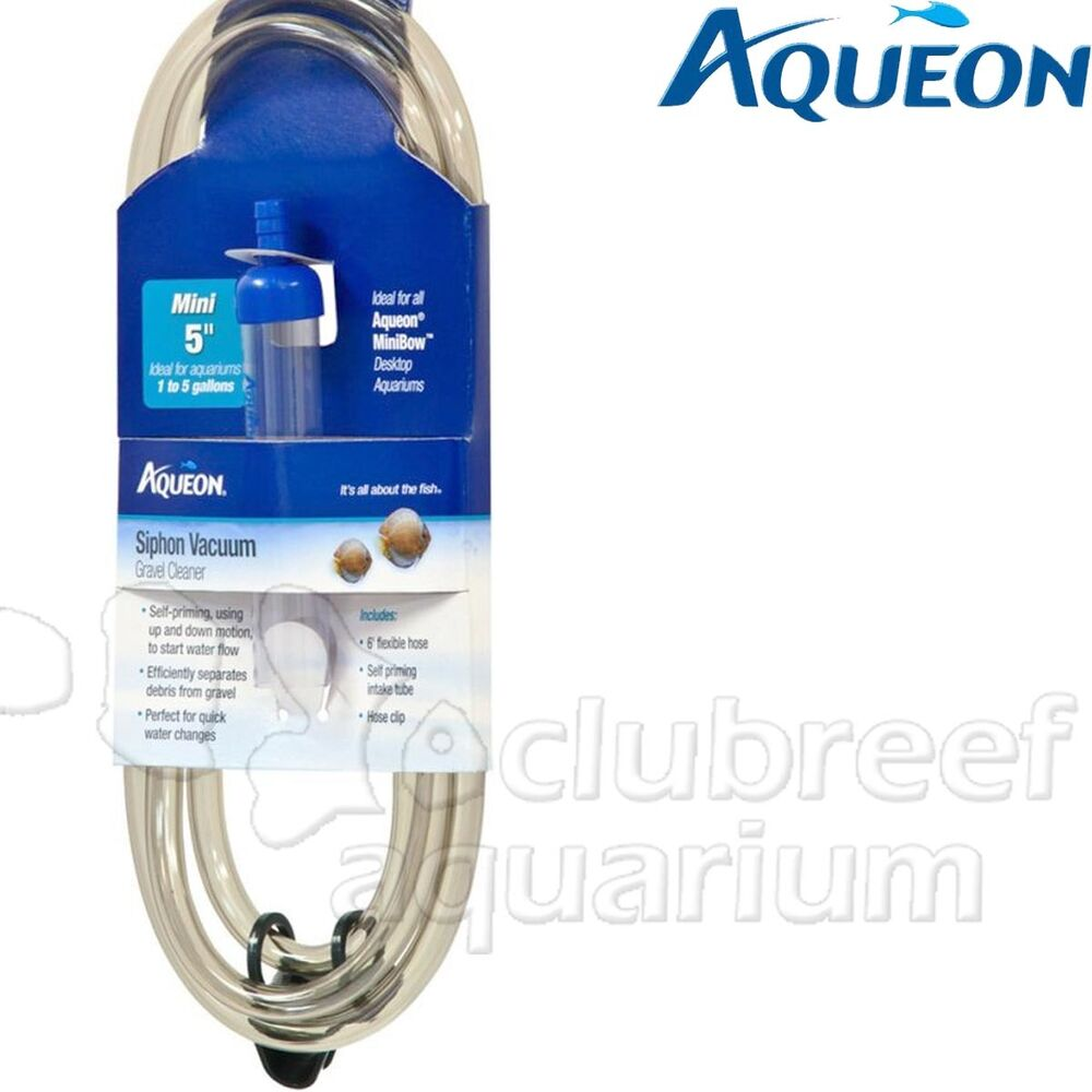 Aqueon Aquarium Gravel Self Starting Siphon Cleaner Vac