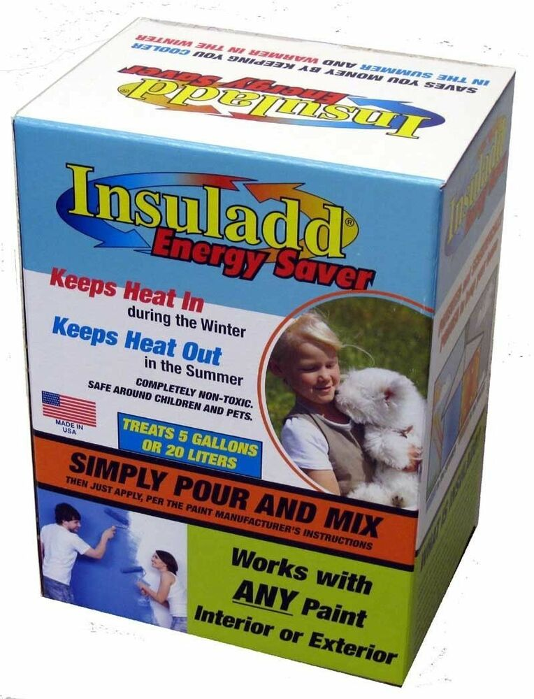 Insuladd Heat Reflective Insulating Heating Cooling Paint Additive Insulad Ebay
