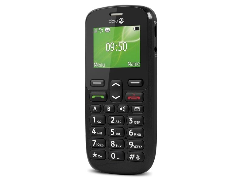 big button doro phoneeasy 508 mobile phone black unlocked ebay. Black Bedroom Furniture Sets. Home Design Ideas