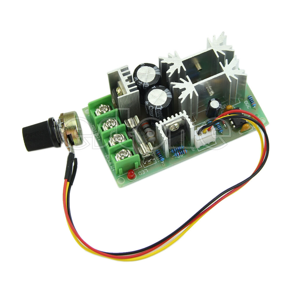 universal dc10 60v pwm hho rc motor speed regulator