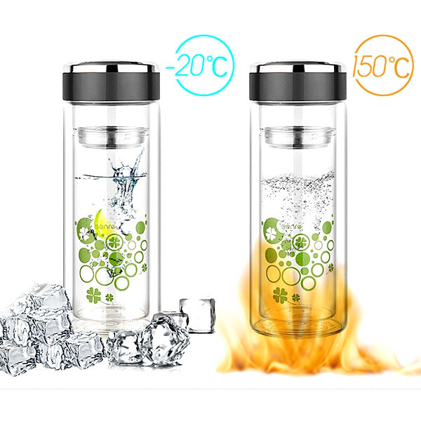 Glass L Water Infuser