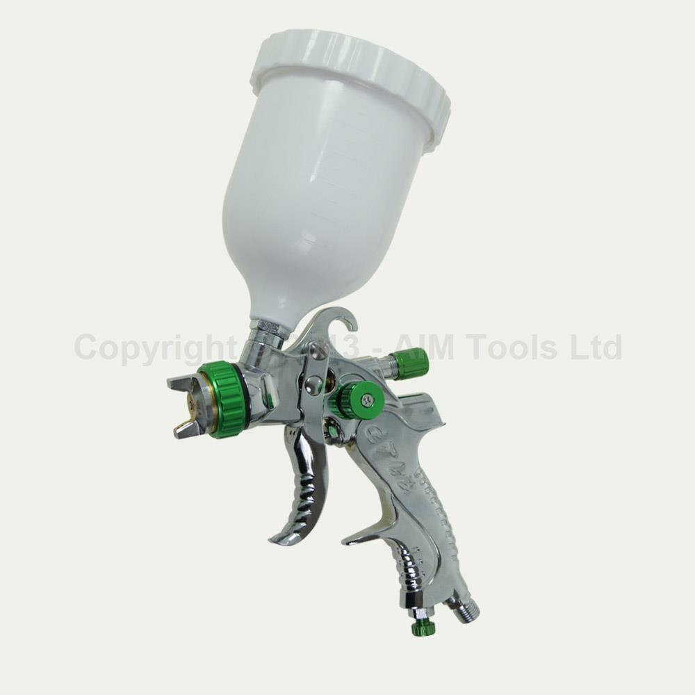 221452 Low Pressure Hvlp Gravity Feed Air Paint Spray Gun