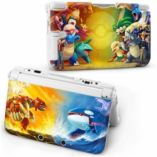 New cartoon pokemon protective hard case cover skin for for Housse 3ds xl pokemon