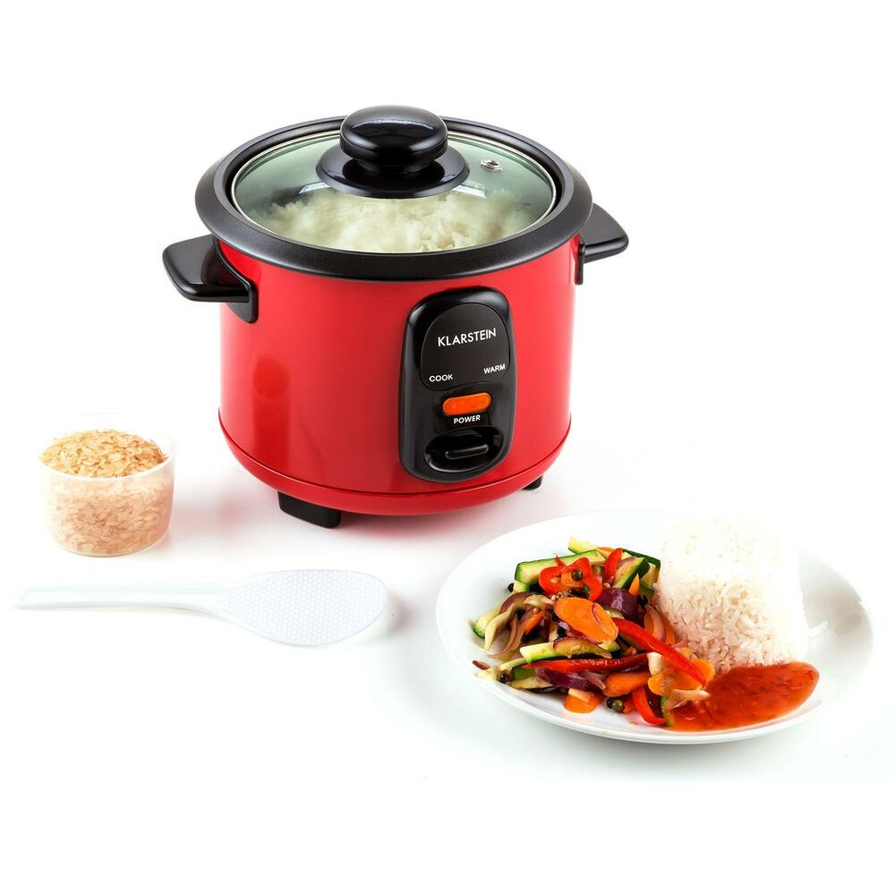 SMALL KITCHEN RICE COOKER 300 W 0.6 L KEEP WARM MODE HOME