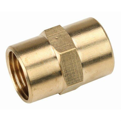 Brass quot pipe coupling ebay