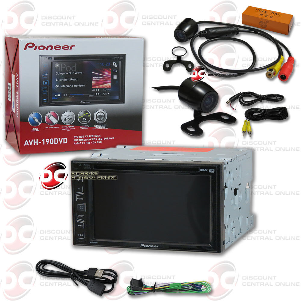 how to remove pioneer car stereo pioneer avh 190dvd 6 2 touchscreen dvd cd car stereo 170°
