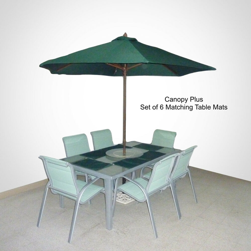 Patio Table Umbrella Replacement Canopy: 9FT Patio Outdoor Umbrella Replacement Canopy Cover W