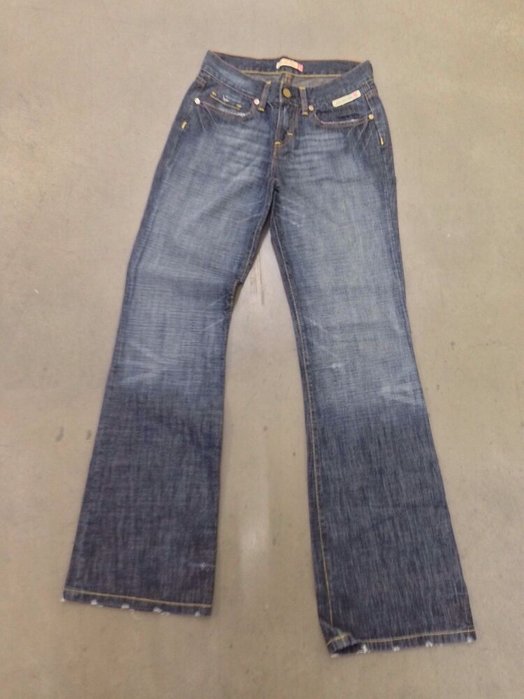 Details about Womens Duck   Cover Jeans - W26 L32 - Bootcut - Navy Wash -  Great Condition 538a9cd56