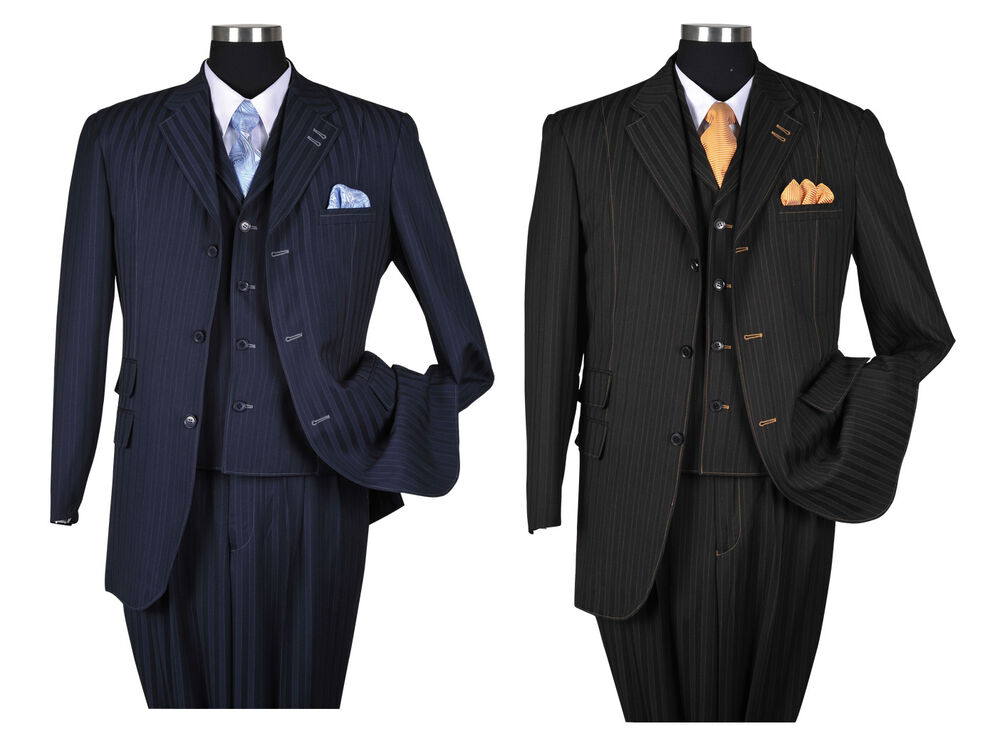 Consider, Mens style with pin striped suits think