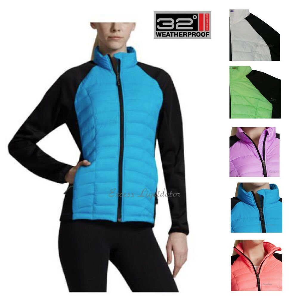 32 Degree Weatherproof Ultra Light Down Soft Shell Jacket